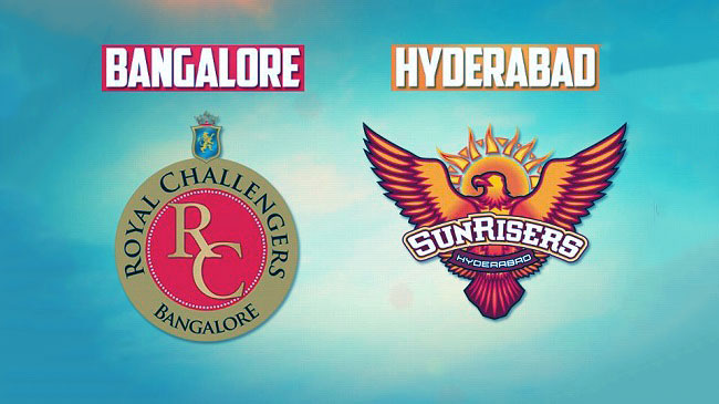 Sunrisers Hyderabad vs Royal Challengers Bangalore 5th April 2017.